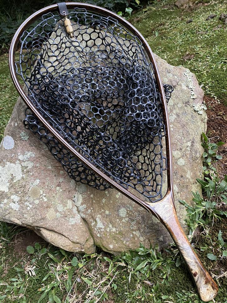 Wooden Fly Fishing Net 2