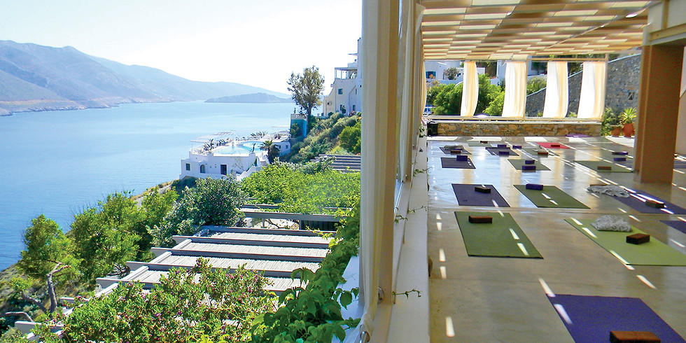 Yoga Paradise in the Cyclades