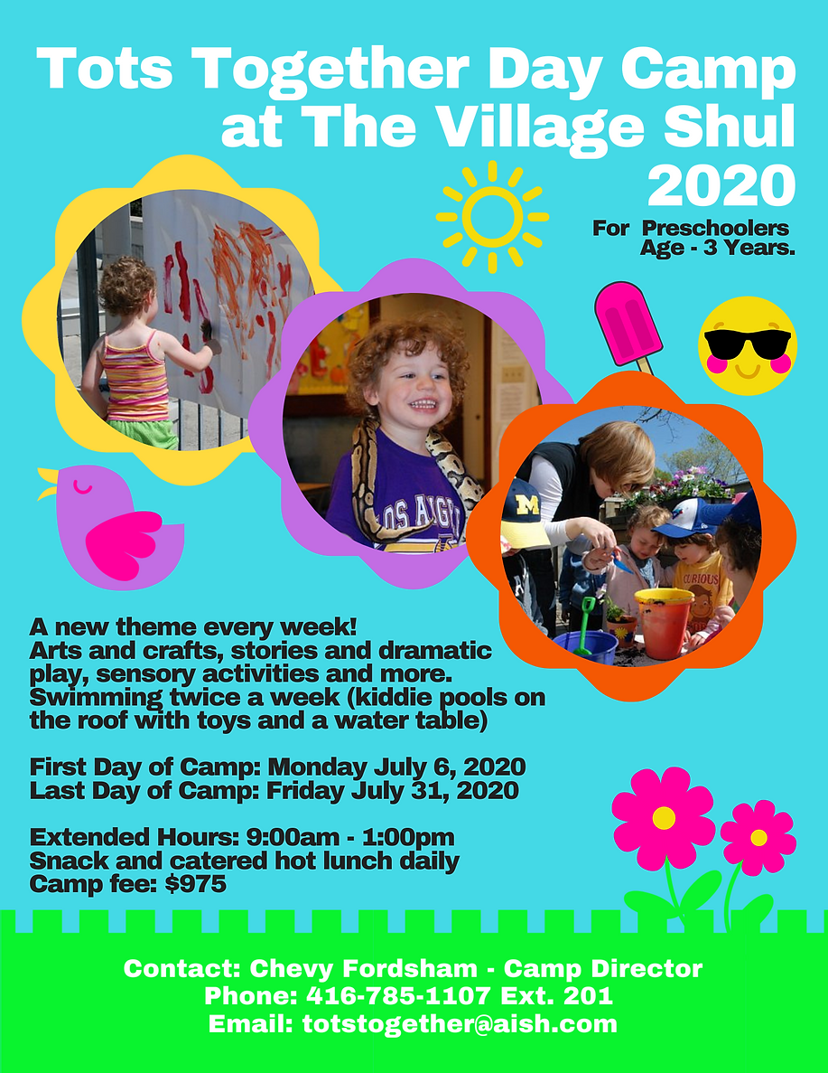Copy of Tots Together Day Camp The Villa