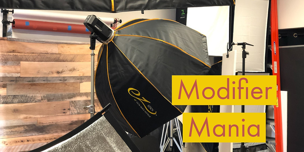 Modifier Mania Workshop May 31, 2019