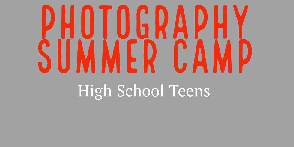 Photography Summer Camp - High School