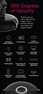VEZO 360 - The First 4K 360˚ Smart Dash Cam details