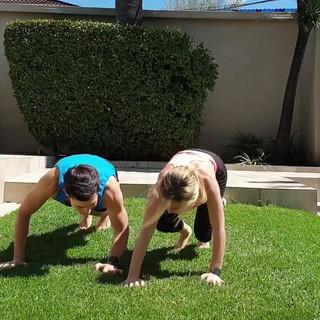Fun doubles routine