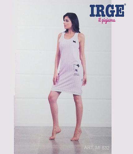 Camicia da notte Donna IRGE Cotone Spalla Larga MI832