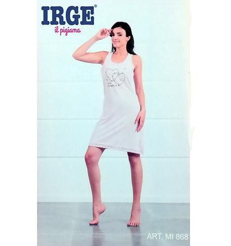 Camicia da notte Donna IRGE Cotone Spalla Larga MI868