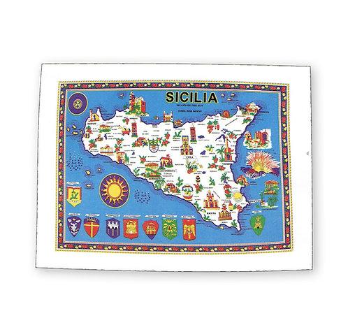 Strofinaccio Sicilia 55x80cm