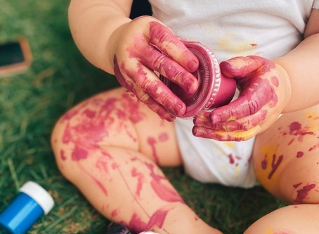 DIY EDIBLE ECO-PAINT RECIPE FOR KIDS 🎨