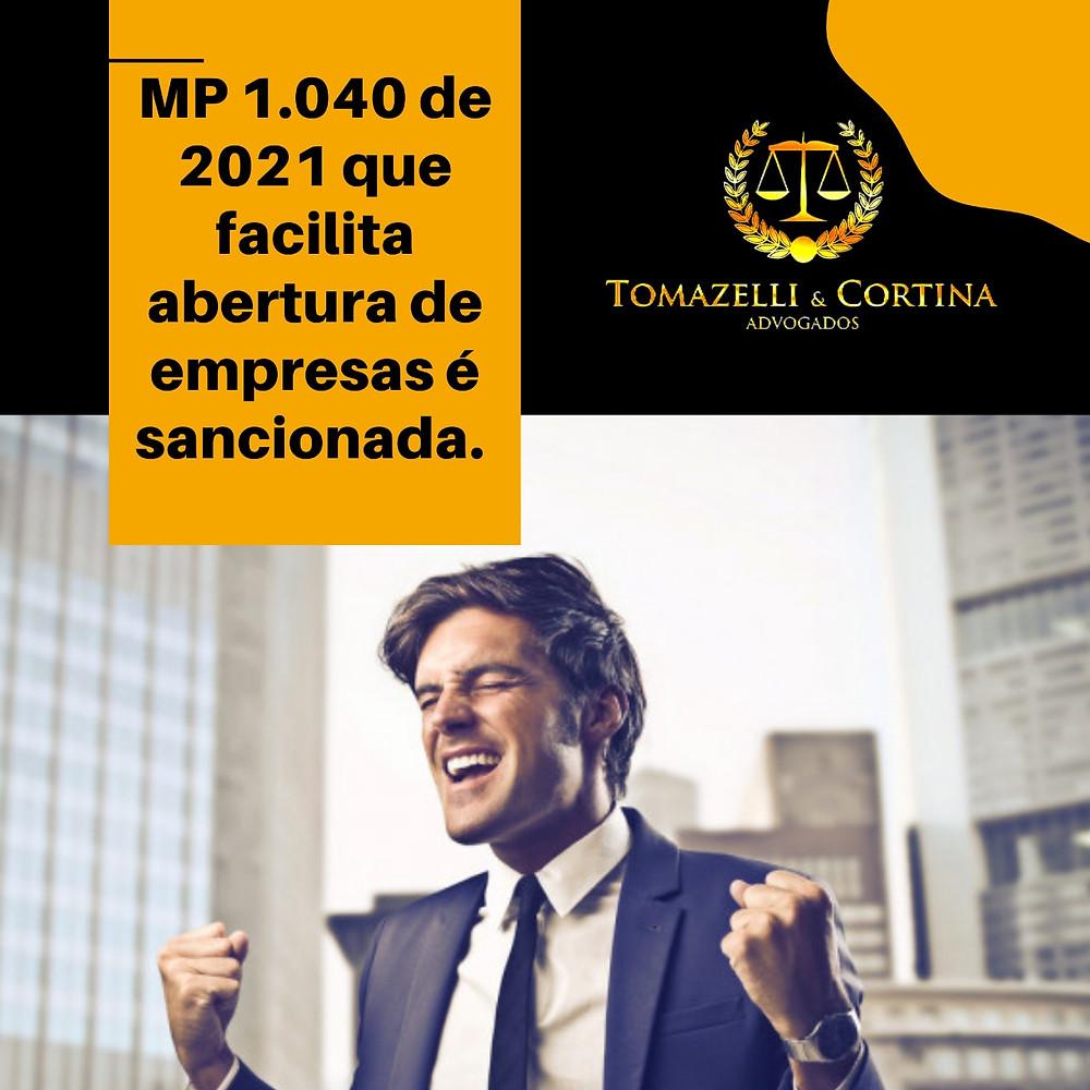abertura de empresa mp 1.040