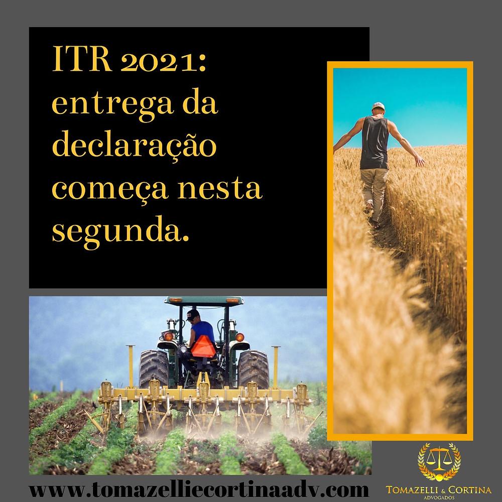 itr agricultor declaração receita federal