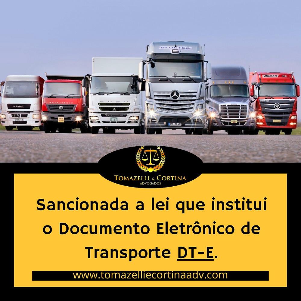 transporte lei documento eletrônico de transporte carga motorista