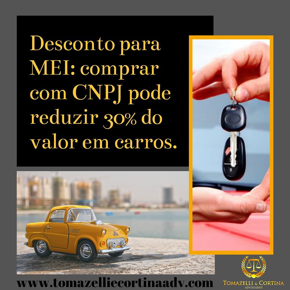 carros desconto ipi icms microempreendedor mei