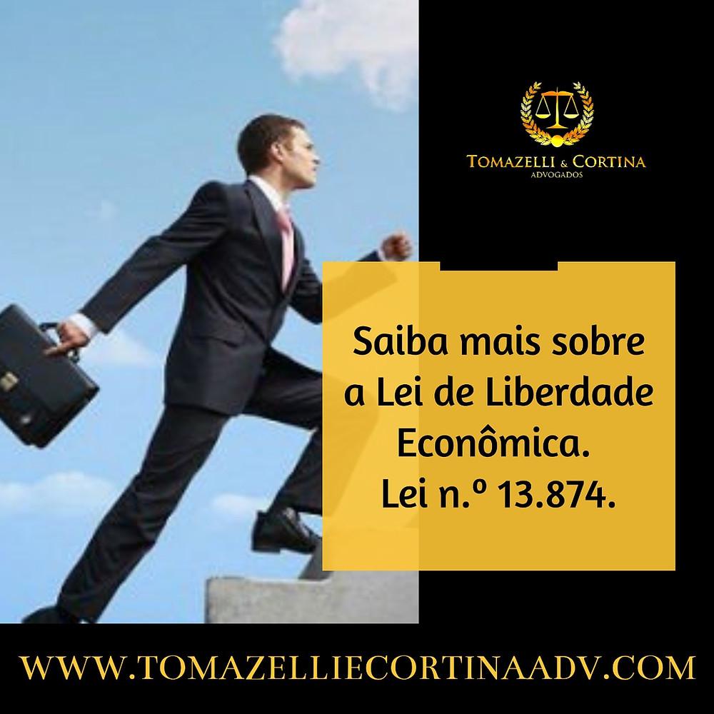 liberdade econômica empresa empresário empreendedor lei