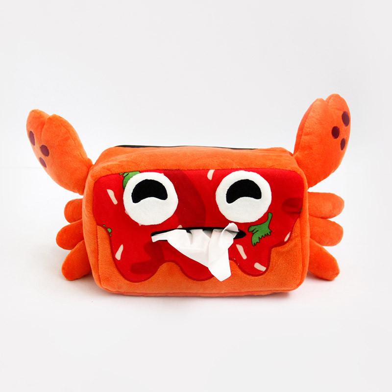 Chili Crab Tissue Box Holder
