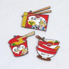 CQYD Enamel Badge Keychain