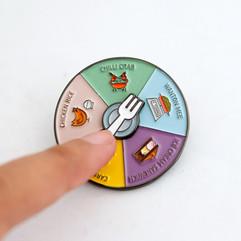Roulette Pin - Makan