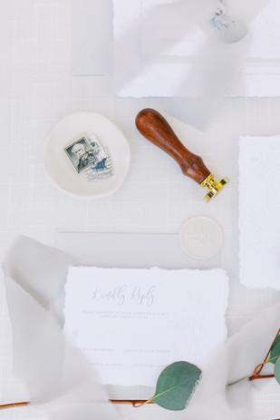 Custom Simple Wedding Invitations