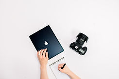 branding, small business, photographer, stock image, notebook, ipad, apple, camera, business, flat lay