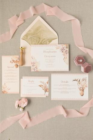 Semi Custom Wedding Invitations