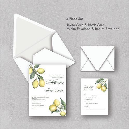 Citrus Love Wedding Invitations