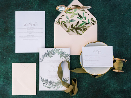 5 Essentials You Need For Your Wedding Invitations