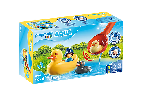 Playmobil 70271 AQUA Duck Family