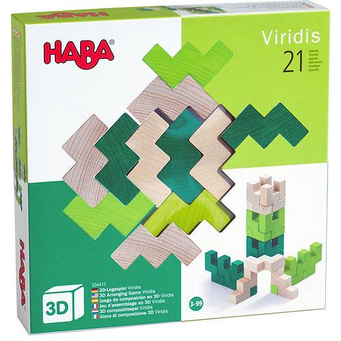 Haba 3D Arranging Game Viridis