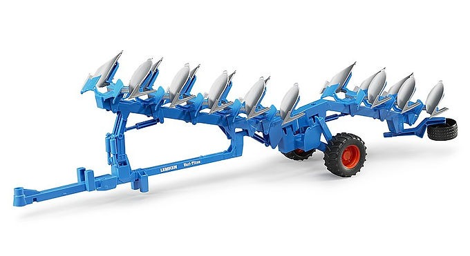 Bruder Lemken Semi-mounted Reversible Plough