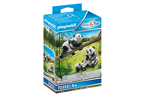 Playmobil 70353 Family Fun Pandas with Cub