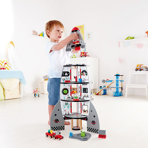 FOUR-STAGE ROCKET SHIP from HAPE