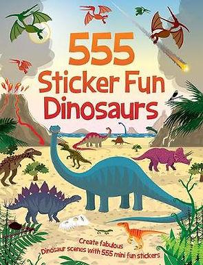 Books - 555 Sticker Fun Dinosaurs 2ed