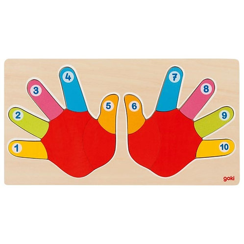 Goki Puzzle Hands