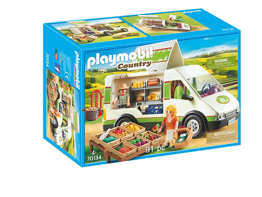 Playmobil 70134 Country Mobile Farmer's Market Van