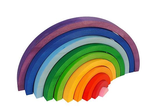 Bauspiel Big Rainbow 10 pcs