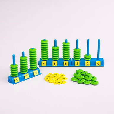 Edx Education Place Value Abacus Set