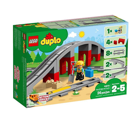 LEGO® DUPLO® 10872 Train Bridge and Tracks set
