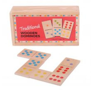 BigJigs Traditional Wooden Dominoes