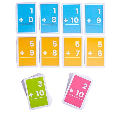 BigJigs Flashcards - Additions 1-10 (1set)