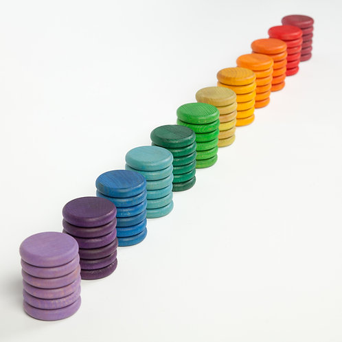 Grapat 72 X Coins (12 Colors)