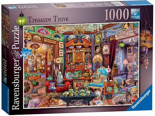 Ravensburger Treasure Trove, 1000pc Jigsaw Puzzle