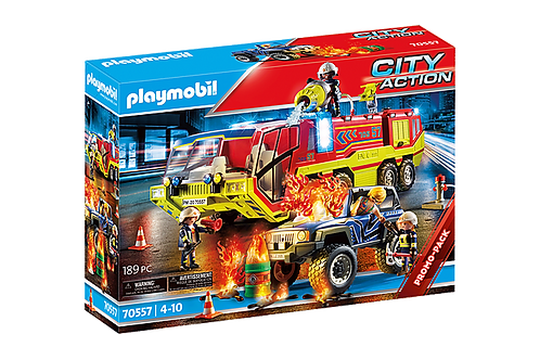 Playmobil 70557 City Action Promo Fire Engine with Truck