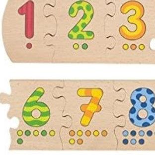 Goki Number Puzzle Board