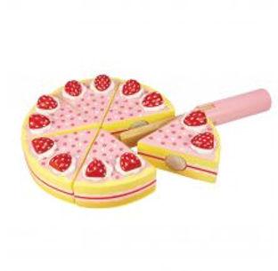BigJigs Strawberry Party Cake