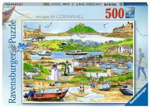 Ravensburger Escape to Cornwall, 500pc Jigsaw Puzzle