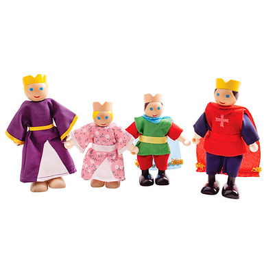 BigJigs Royal Family Dolls