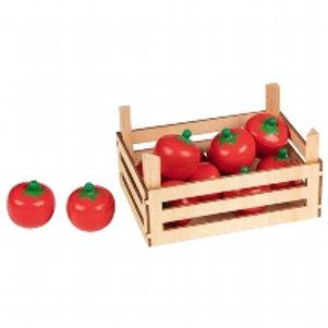 Goki Tomatoes In Vegetable Crate