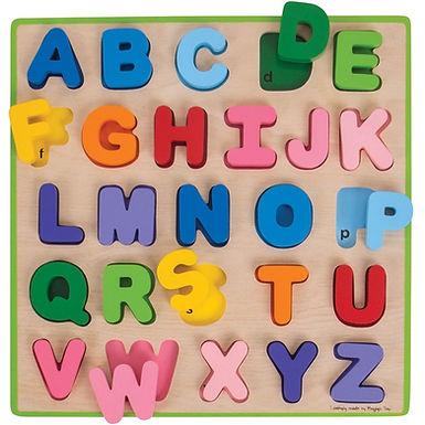 BigJigs ABC Puzzle (UPPERCASE)