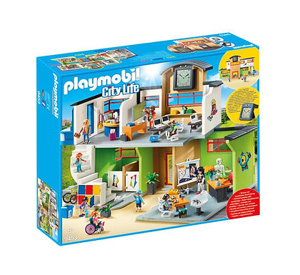 Playmobil 9453 City Life Furnished School Building