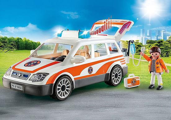 Playmobil 70050 Emergency Car with Siren