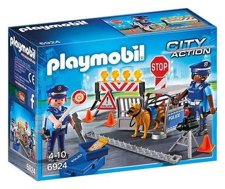 Playmobil 6924 City Action Police Roadblock