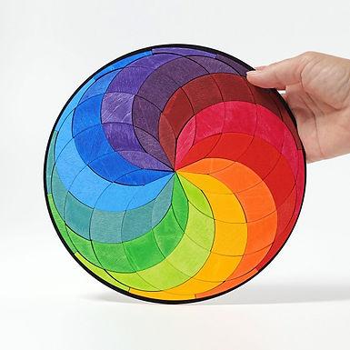 Grimms Magnet Puzzle Large Color Spiral